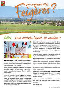 Couverture du bulletin municipal de Feigères
