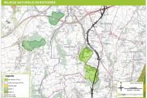 carte des milieux naturels